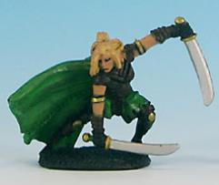 Human Ranger - Female (Green)