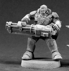 Reggie Van Zandt - Space Marine