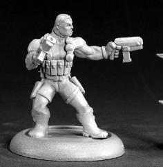 Frank Russo - Mercenary Hero