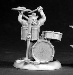 Toad - Punk Rocker Drummer