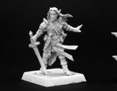 Arael - Half Elf Cleric