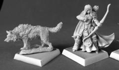 Adowyn & Leryn - Iconic Hunter & Wolf
