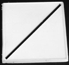 "2"" Square Slotted Metal Bases (Diagonal)"