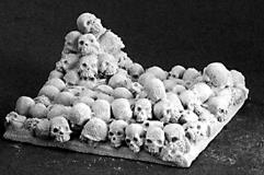 40mm Scenic Bases - Skulls