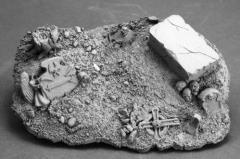 Graveyard Vignette Base (Resin)