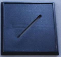 40mm Square Plastic Base