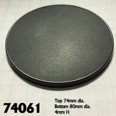 80mm Round Gaming Base