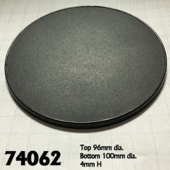 100mm Round Gaming Base