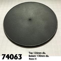 130mm Round Gaming Bases