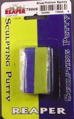 "Blue/Yellow Epoxy Putty (4"" Strip)"