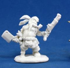 Gruff Grimecleaver - Dwarf Pirate