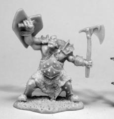 Orc Slayer w/Axe & Shield