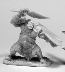 Orc Slicer w/Scimitar & Shield