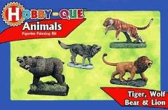 Hobby-Que Learn to Paint Kit - Animals