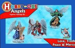 Hobby-Que Learn to Paint Kit - Angels
