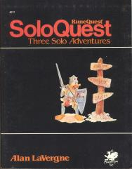 SoloQuest #1 - Three Solo Adventures