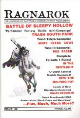 "#32 ""Sleepy Hollow for Warhammer Fantasy Battles, Mars Needs Cows, Episode 1 Pod Racing Rules"""