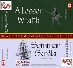 Lace Wars Series #9 - War of the Hats - A Lesser Wrath & Sea Lords Series #2 - Sommar Skrala