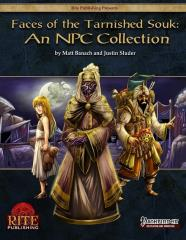 Faces of the Tarnished Souk - An NPC Collection