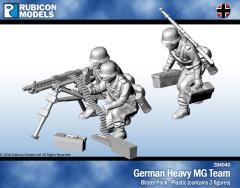 German Heavy MG Team