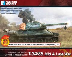 T-34/85 - Mid & Late War