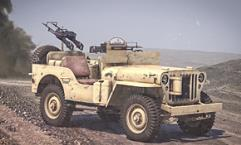 Willys MB 1/4 Ton 4x4 Utility Truck (Commonwealth)