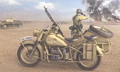 German Motorcycle R75 w/Sidecar - North African Campaign