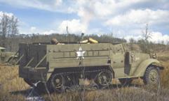 M3/M3A1 Expansion - M21 Mortar Motor Carriage & Tarpaulin Set
