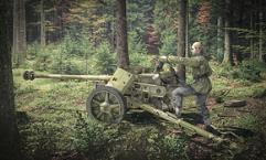 PaK 40 AT Gun w/Crew