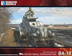 BA-10 Heavy Armored Car