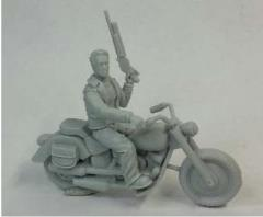 Guardian on Bike (Resin)