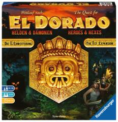 The Quest for El Dorado - Heroes and Hexes expansion