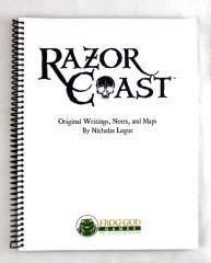 Razor Coast - Original Writings, Notes and Maps