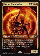 Rakdos Firewheeler (P) (Foil)