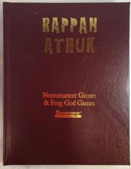 Rappan Athuk (w/PDF) (Collector's Edition w/Custom Artwork, Skull) (Pathfinder)