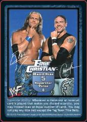 Backlash - Totally Awesome Edition, Edge and Christian