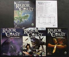 Razor Coast - MEGA Pack (w/PDF's) (Swords & Wizardry)