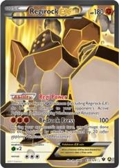 Regirock EX (P) #43a (Holo)