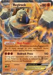 Regirock EX (Ultra R) #43 (Holo)