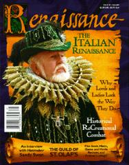 "#5 ""The Italian Renaissance, Historical Recreational Combat, Interview with Hatmaker Sandy Swan"""