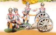 12cm Howitzer w/Pickelhaub Crew