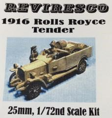 1916 Rolls Royce Tender
