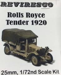 1920 Rolls Royce Tender