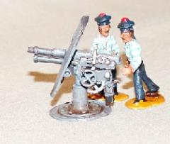 75mm St. Chamond Naval Gun