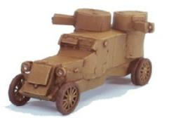 Austin Putilov WWI Russian Armored Car