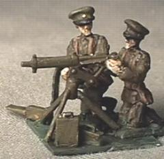 British Machine Gun Team (25mm)