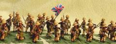 British Troops w/Pith Helmets - Mixed Set (28mm)