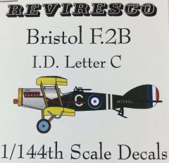 Bristol F.2B Decal Set - I.D. Letter C (1:144)