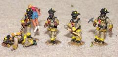 Firemen w/Breathing Apparatus