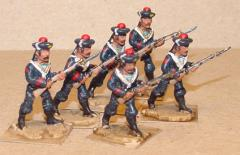 French Sailors Advancing (28mm)